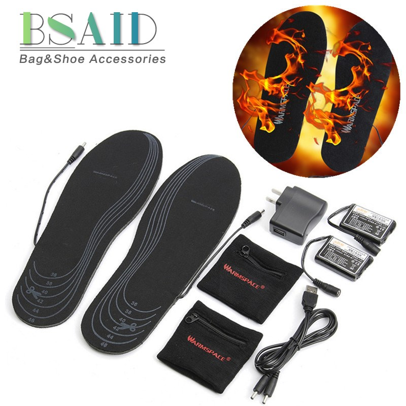 Usb Warmer Shoes Rechargeable Electric Battery With Remote
