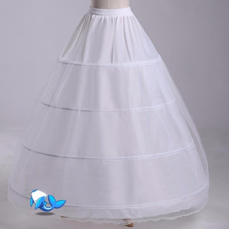 Underklänning för brudklänning Tulle Kvinnor underskirt jupon - Bröllopstillbehör - Foto 2