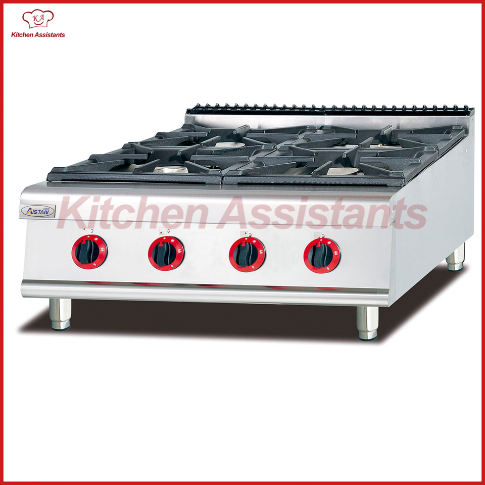 GH987-1 Counter top gas range with 4 burner gh987 gas range with 4 burner with cabinet