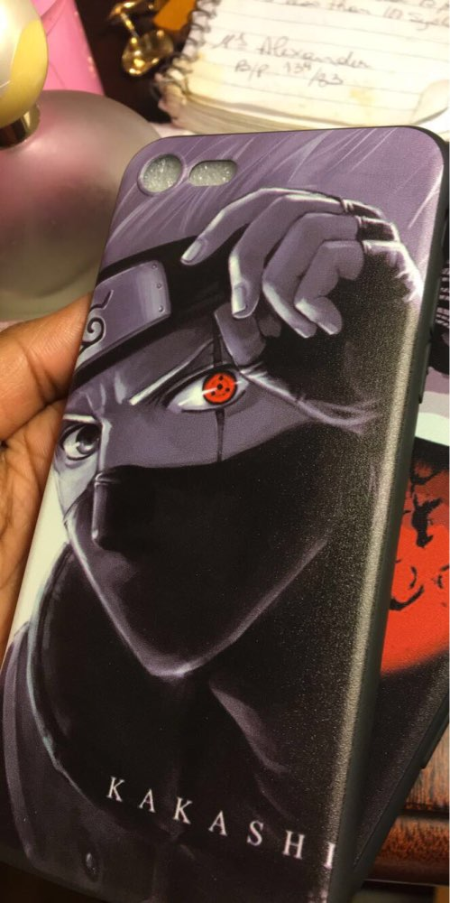 Naruto Kakashi Hatake Phone Case for Iphone photo review