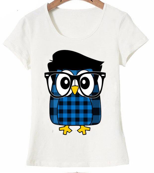 Chouette Hipster mignon T Shirt d'été mode femmes T Shirt 2019 nouveau design hauts charismatique fille à manches courtes dames  グループ上の レディース衣服 からの Tシャツ の中 1