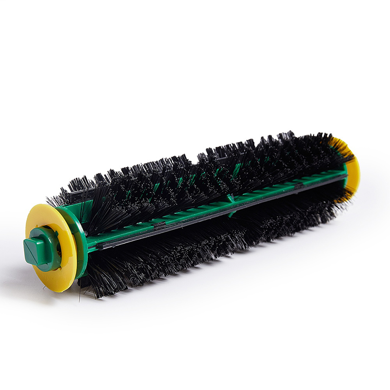 1PC Black Bristle Brush For iRobot Roomba 500 Series 510 530 535 540 550 560 570 580 Cleaning Robots Vacuum Cleaner Replacement