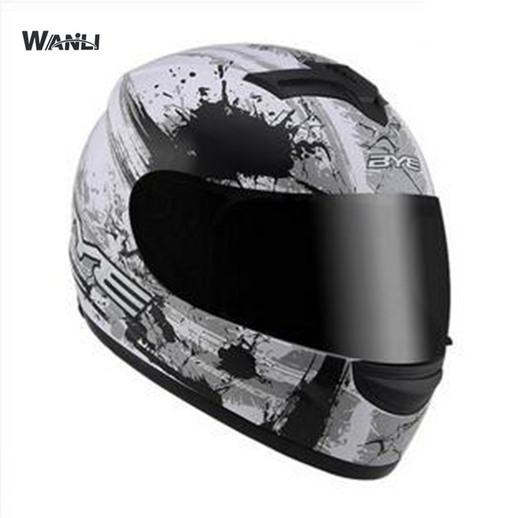 free shipping 2018 new fashion motorcycle helmet dual visor system full face helmetfor men women DOT approved Top quality novelty women men winter warm black full face cover three holes mask beanie hat cap fashion accessory unisex free shipping