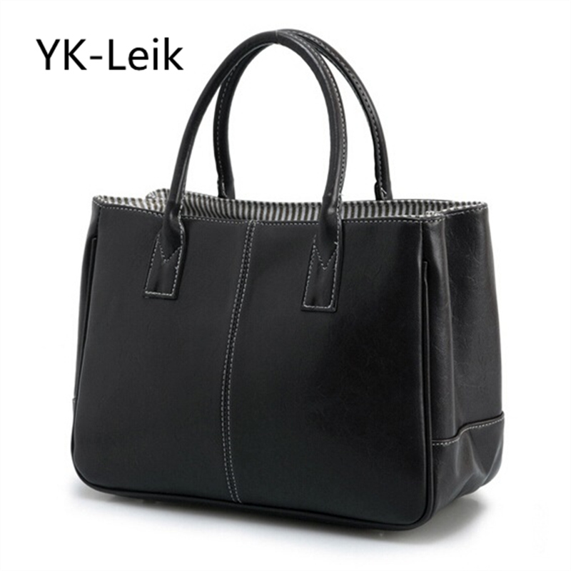 YK-LeiK Time-limited Promotion European And American Simple Stylish Women Handbag The Classic Look Pu Women Totes Shopping Bag