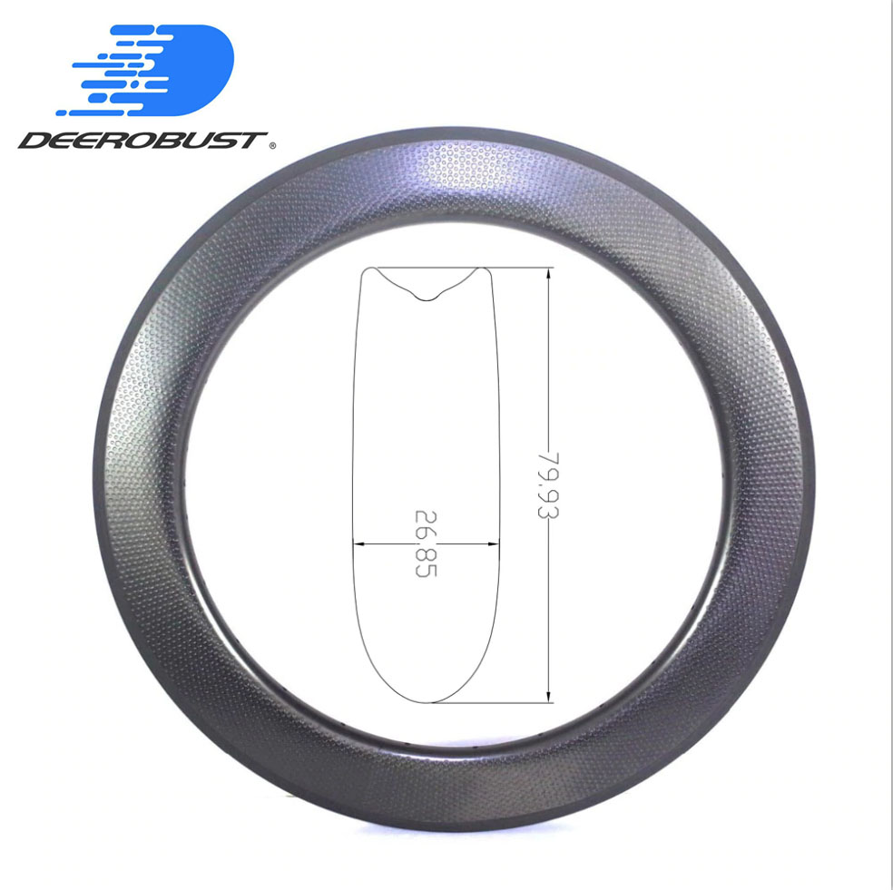 530g 80mm x 25mm 700c Dimpled Carbon Tubular Road Bike Wheel Bicycle Rims 25mm Wide U Shaped Golf Surface Dimple Rim 20 24 Holes530g 80mm x 25mm 700c Dimpled Carbon Tubular Road Bike Wheel Bicycle Rims 25mm Wide U Shaped Golf Surface Dimple Rim 20 24 Holes