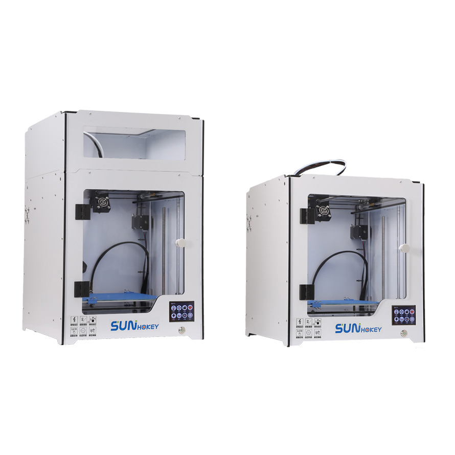 2018 Tout Neuf de qualité industrielle de haute précision Boîte machine 3D Imprimante (impresora 3d) u250 (Seulement pour L'europe pays)