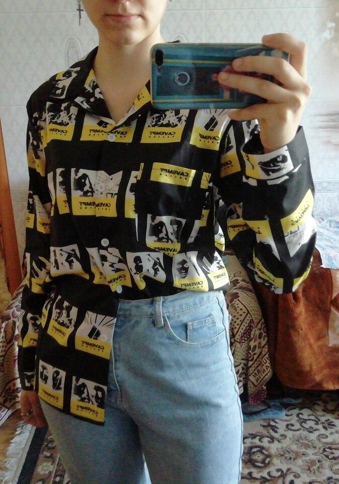 Kpop New  Bangtan Boys Suga Same Shirt Female Male Unisex Long Sleeve Loose Korean Chic Young Group Spring Autumn Shirt photo review