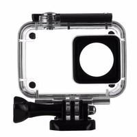 New 40M Diving Waterproof Case For Xiaomi YI 4K Xiaoyi 2 Action Camara Protective Housing Case
