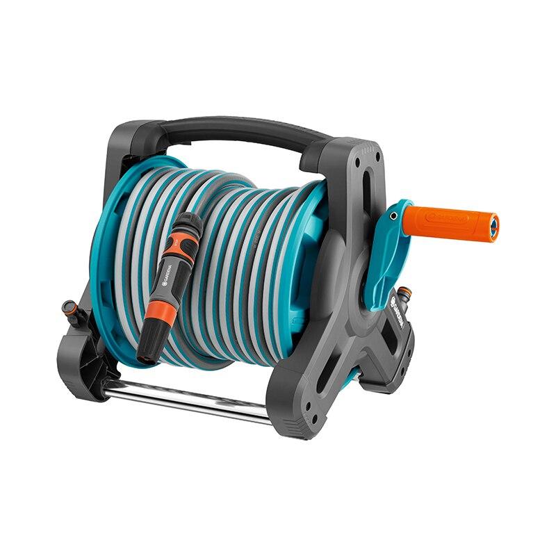 Garden Hose & Reel GARDENA 8010-20 coxreels 112w 1 50 welding hand crank hose reel 1 4 id 50 twin oxy acetylene welding hose 200 psi