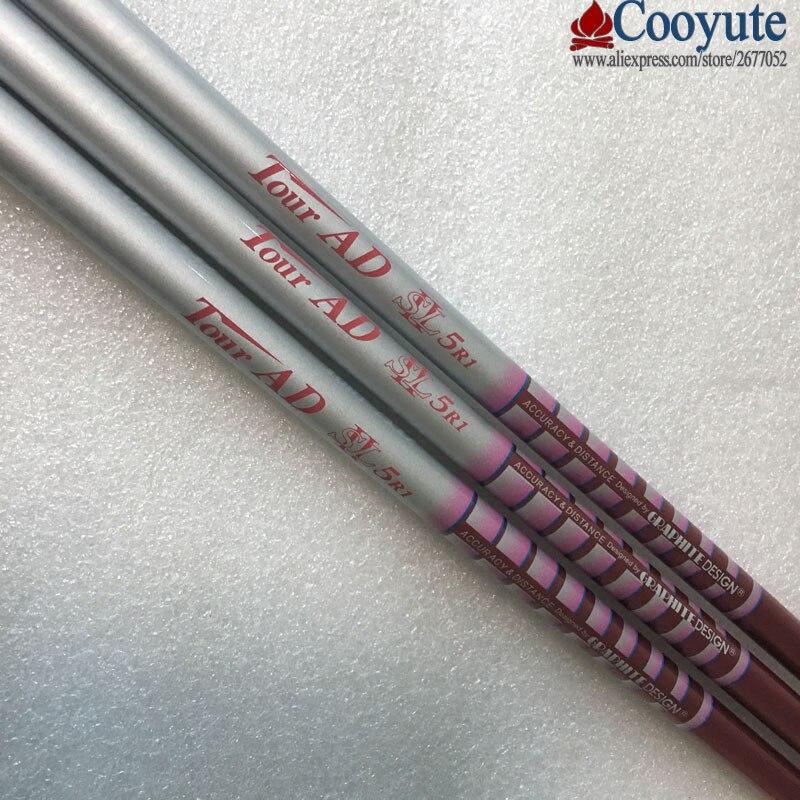 New Cooyute Golf Clubs shaft Tour AD SL 5R1 woman Golf driver shaft 8pcs/lot wood Graphite Golf shaft L flex Free shipping