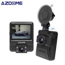 """AZDOME GS65H Originale Mini Dual Lens Auto DVR 2.4 """"Novatek 96655 Videocamera per auto 1920×1080 P Full HD Dash cam di Visione Notturna del G-sensor"""