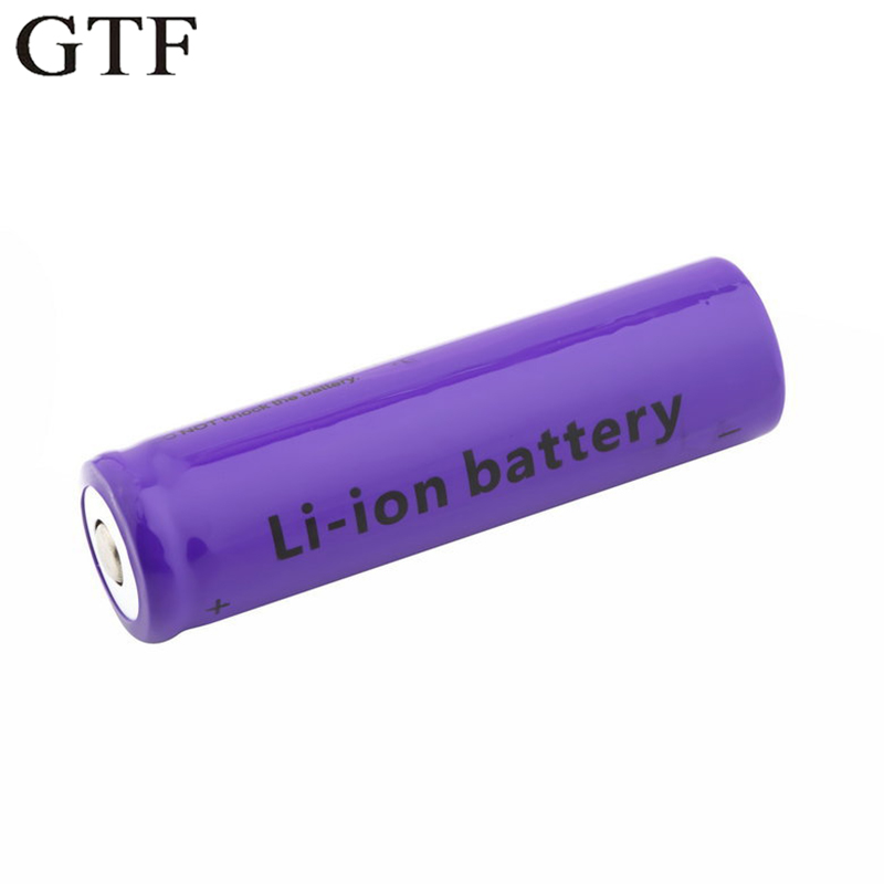 GTF 18650 Battery rechargeable lithium battery 4500mAh 3.7V Li-ion battery for flashlight Torch 18650 Batteries ...