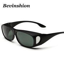 High Quality Brand Designer Polarized Sunglasses Male Myopia Glasses Cover Driving Sun Glasses For Men Fishing Goggles Gafas New