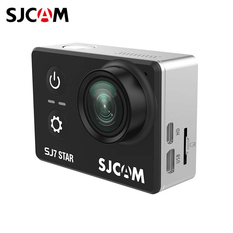 Фото - Action camera SJCAM SJ7 STAR micro camera compact telephoto camera bag black olive