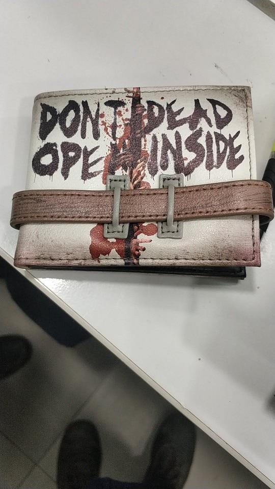 Walking Dead Don't Open Bi-Fold Wallet  DFT-2016 photo review