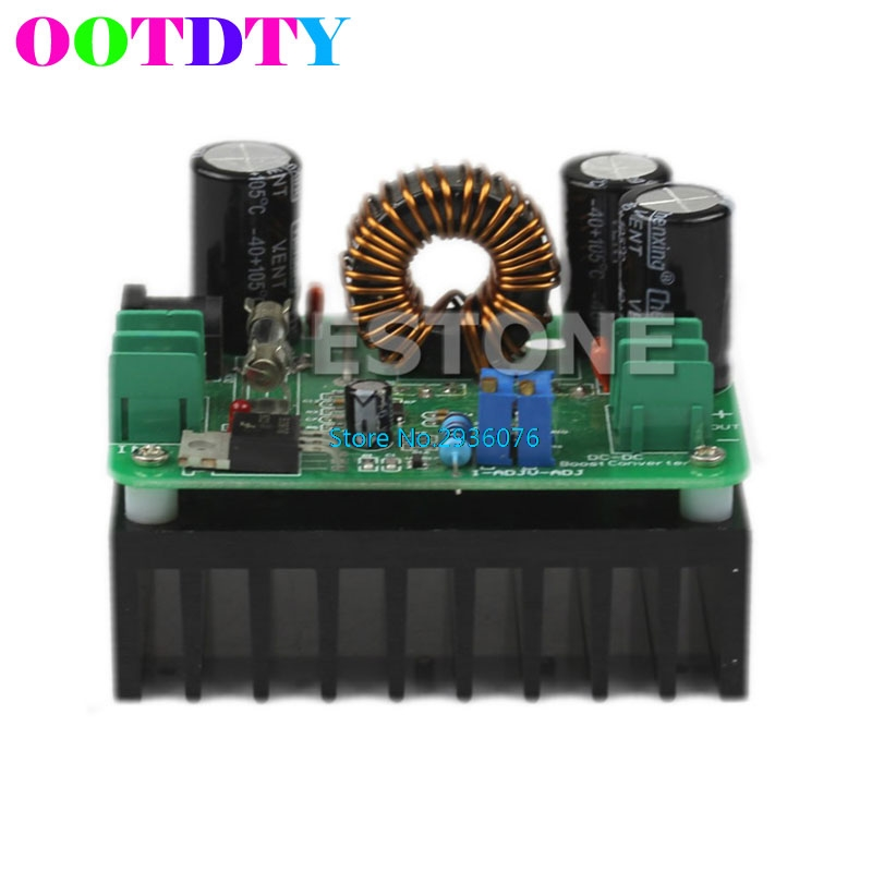 OOTDTY 600W <font><b>DC</b></font> 10V-60V to 12V 24V 36V 48V 80V 10A Converter <font><b>Step</b></font>-<font><b>up</b></font> Module Power Supply APR8_25 image