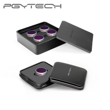 PGYTECH $15 USD de réduction sur Mavic 2 Zoom ND PL ensemble de 4 pièces ND 8 16 32 64 PL filtre Kit filtres dobjectif pour Drone DJI Mavic 2 Zoom RC