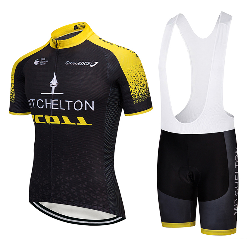 TEAM 2018 Tour Cycling jersey gel bike shorts MTB Ropa Ciclismo mens summer quick-dry PRO BICYCLING wear Maillot Culotte suit 2018 pink ef team long sleeve cycling jersey 9d gel pad bike pants suit mtb ropa ciclismo pro bicycling maillot culotte wear