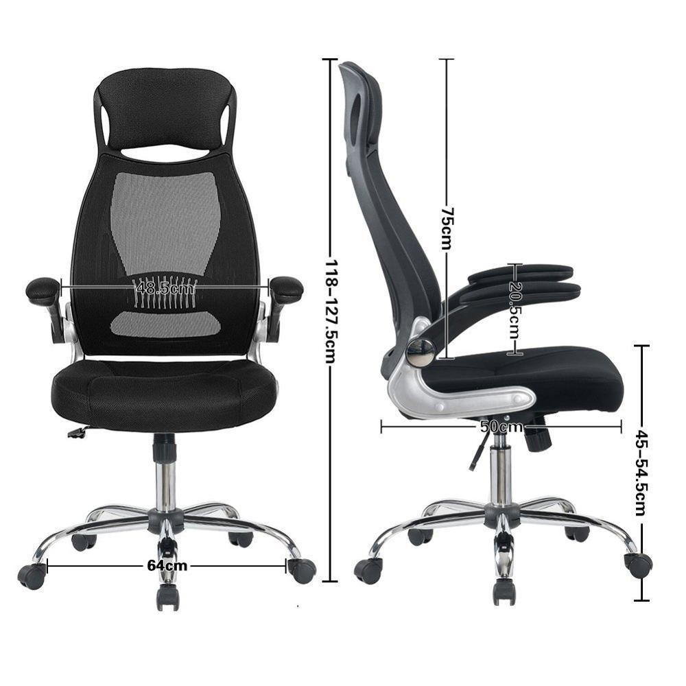 Купить офисное кресло черное эргономичное вращающееся сетчатое офисное
