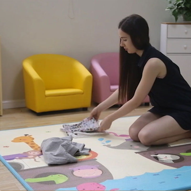 Baby Play Floor Odorless Playing Infant XPE Foam Cartoon Thickened 180*200*1.8cm Toddler Crawling Mat On Sale Mat004