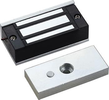 12V 60kg elektroniczny elektryczny zamek magnetyczny fail safe DC EM zamki siła elektromagnetyczna mini M60 do dostępu do drzwi wejściowych tanie i dobre opinie ML-60S