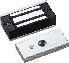 Serrure magnétique électronique, 12V 60kg, verrouillage en panne, verrouillage EM, verrouillage automatique, mini Force magnétique, pour laccès de porte
