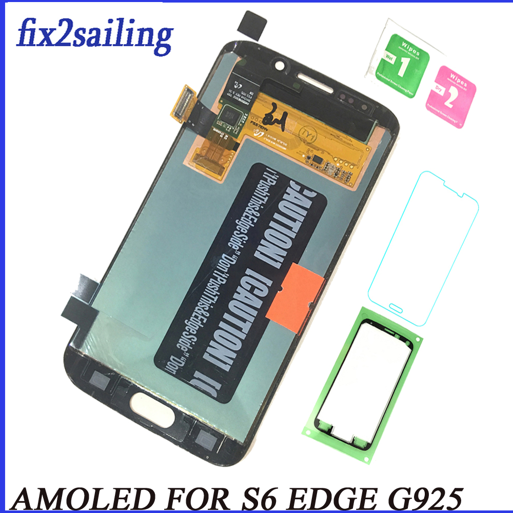 For Samsung Galaxy S6 Edge LCD Display Touch Screen G925F G925A G925P pantalla replacement 100% Tested Working digitizer For Samsung Galaxy S6 Edge LCD Display Touch Screen G925F G925A G925P pantalla replacement 100% Tested Working digitizer