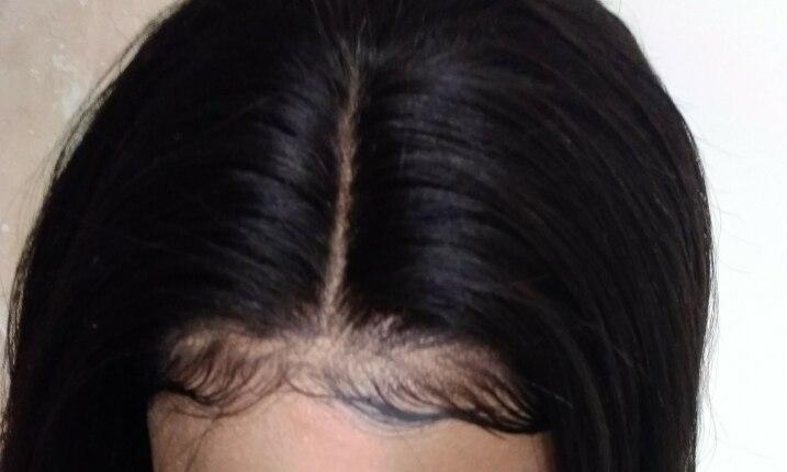 13x4 Синтетические волосы на кружеве натуральные волосы парики для Для женщин натуральный черный 250% Плотность Прямо Синтетические волосы на кружеве Парики бразильского Волосы remy вы можете