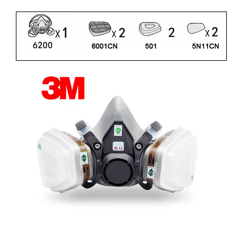 full face respirator organic vapor safety mask ce certified n95