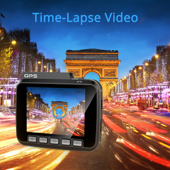 4K WiFi GPS Dash Camera Full HD - GS63H 4