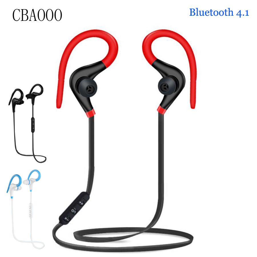 Sport Bluetooth Earphone Wireless Earbuds With Mic Hifi Bluetooth Headset Headphones For Mobile phone kulakl k auriculares микрофон blue microphones yeti usb