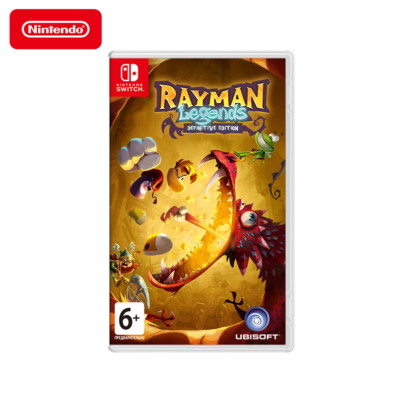 Game Deals Nintendo Switch Rayman Legends Definitive Edition видеоигра для ps4 hitman definitive edition