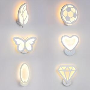 12W LED Acrylic wall light Chi