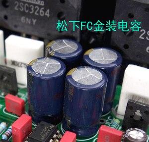 Image 5 - Сборка 2SC3264 2SA1295 Hi Fi стерео усилитель мощности, плата на базе контура Burmester 933 Amp