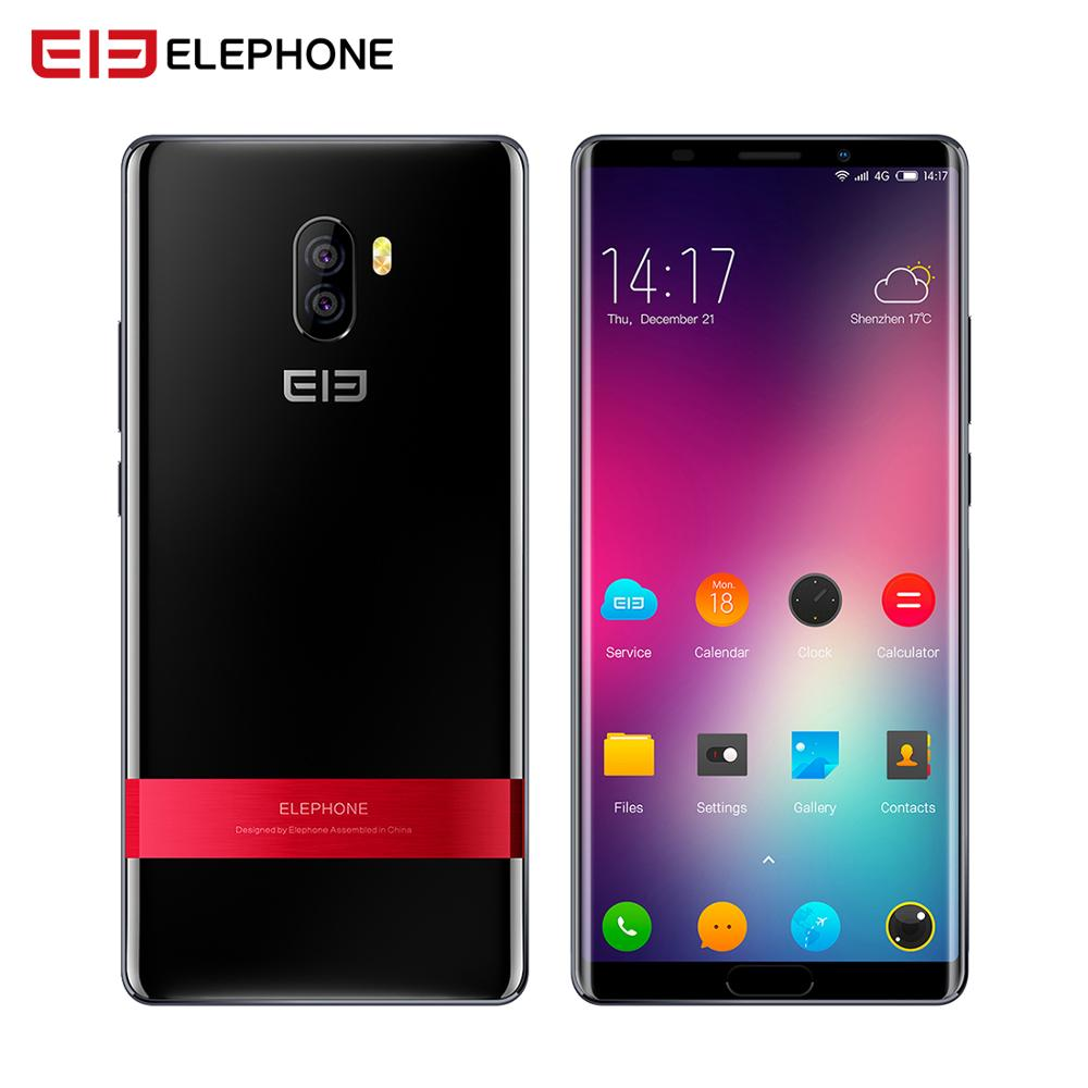 Elephone Smartphones P11 3D 4 GB 64 GB tela incell FHD Android 8.0 MTK6797T Deca Núcleo 6.0 Polegada 16MP + 8MP 3200 mah 4G telefone móvel