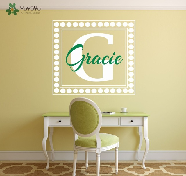 Wall Decal Vinyl Sticker Custom Personalized Name For Kids Girl Room ...