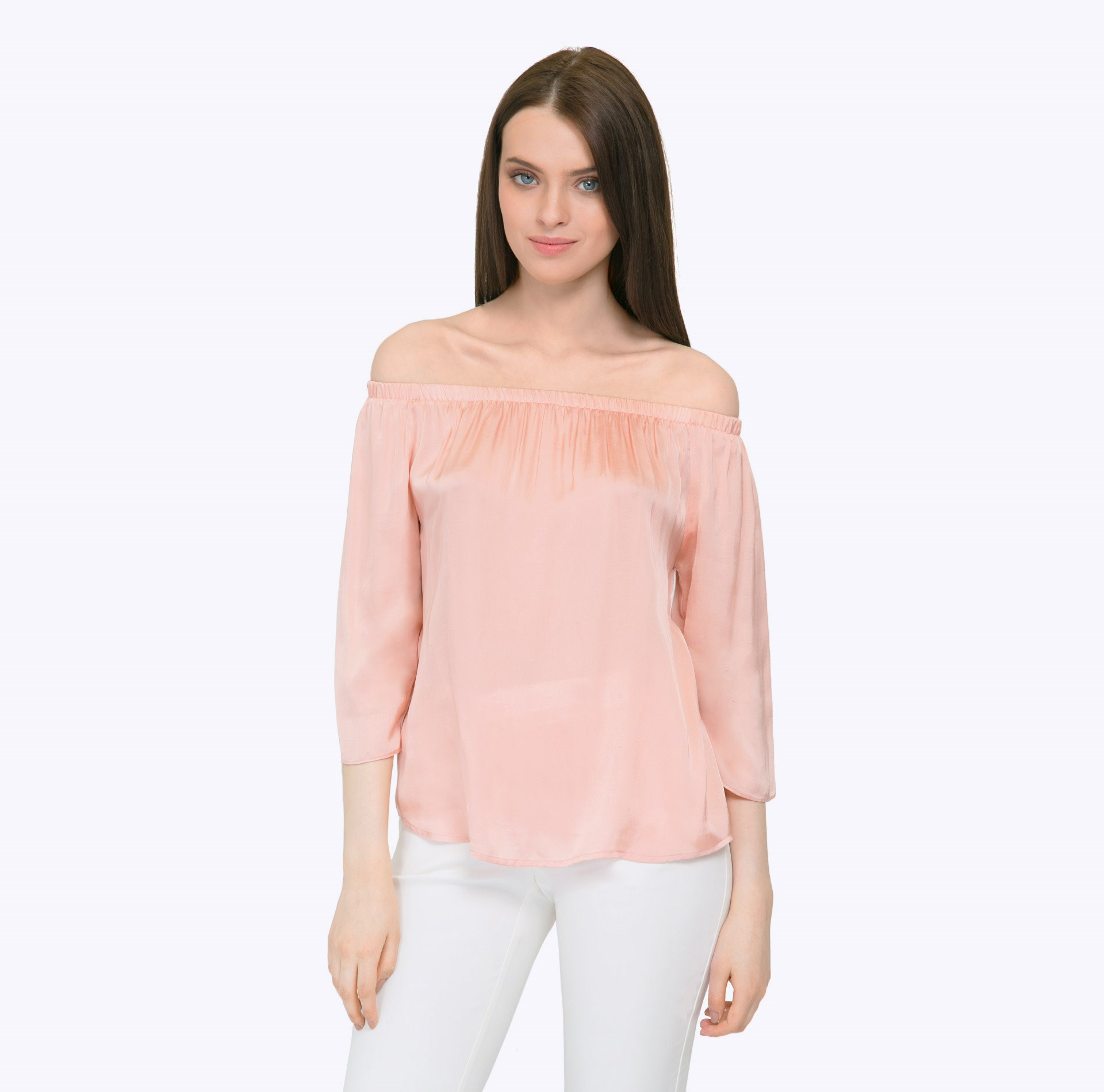 Blouse off shoulder