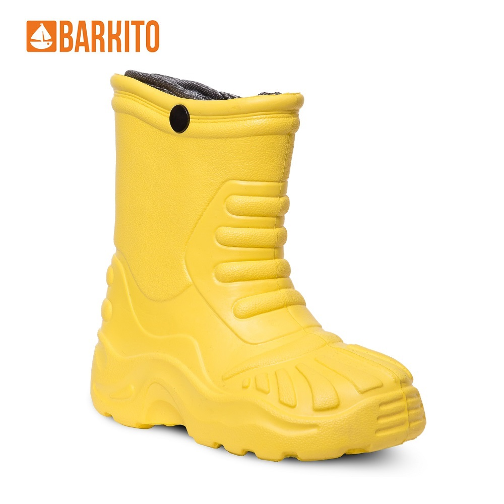 Boots Barkito 340162 children shoes Yellow Spring/Autumn 23 Rubber Boys reima boots 7634609 for boys and girls spring autumn boy girl children shoes