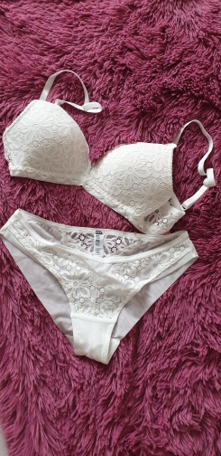 CINOON Sexy Lace Triangle cup Bra Sets For Women Wireless Thin Cotton Breathable Comfortable Underwear Solid color Lingerie Set