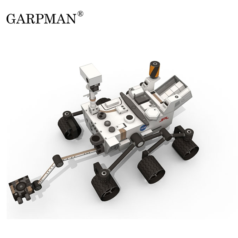 Curiosity Mars Exploration Rover DIY Handmade Paper Model Casual Puzzle Toy Trend Love Fantasy 3D Molded Toys