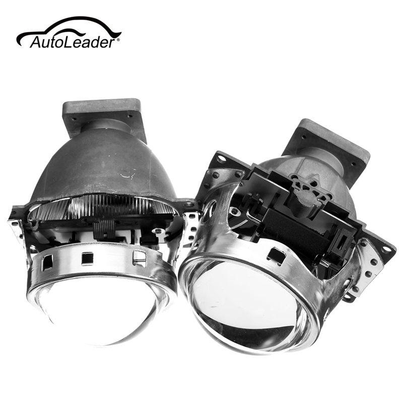 2Pcs New for Hid Bi Xenon Projector Lens LHD for Car Headlight 3.0 Q5 35W Can Use with D1S D2S D2H D3S D4S 3 0 inch hella 5 car bixenon hid projector lens metal holder for d1s d2s d3s d4s hid xenon kit headlight car assembly headlight
