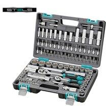 Набор инструментов STELS 14106 (94 предмета из высококачественной стали, кейс в комплекте)