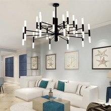 Artpad Modern LED Chandelier Lighting For Dining room Black Gold Led Ceiling Suspended Light Lamp for Kitchen Loft