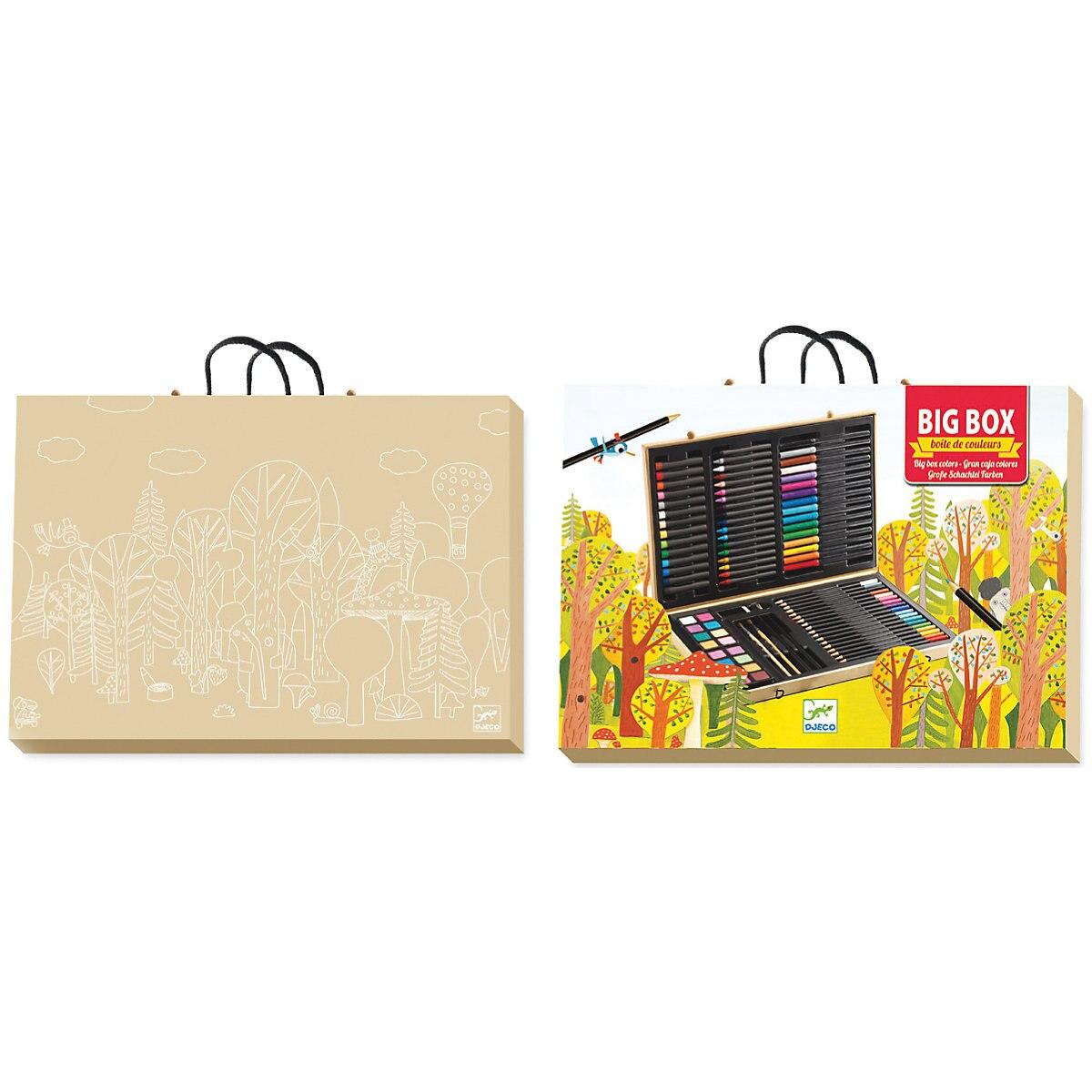 Zeichnung Spielzeug DJECO 4783888 Staffelei Bord Sets Kreativität 3D stift Kinder Färbung Seiten MTpromo - 2