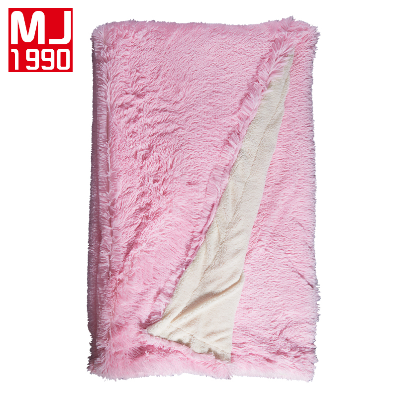 Hot Super Soft Long Shaggy Fuzzy Fur Faux Fur Warm Elegant Cozy With Fluffy Sherpa Throw Blanket Bed Sofa Blanket Christmas Gift in Blankets from Home Garden