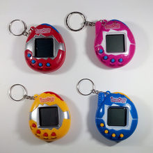 1 PC Color Random Virtual Cyber Digital Pets Electronic Tamagochi Pets Retro Game Funny Toys Handheld Game Machine For Gift(China)