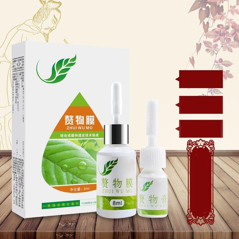 Fuß Mais Entfernung Creme Chinesischen Medizin Behandlung Plantare Warzen Behandlung Fußpflege Medizinische Pflaster Salbe Warzen Entfernung 8 ml