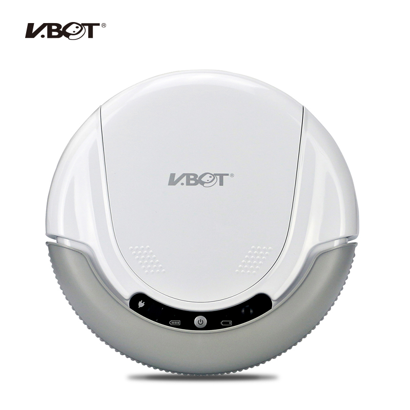 VBOT T272 Robot Vacuum Cleaner, Home Household 500PA Power  Suction Sweep Machine for Pet hair, with Remote Control and Mop vbot sweeping robot cleaner home fully automatic vacuum cleaner special offer clean robot mopping machine
