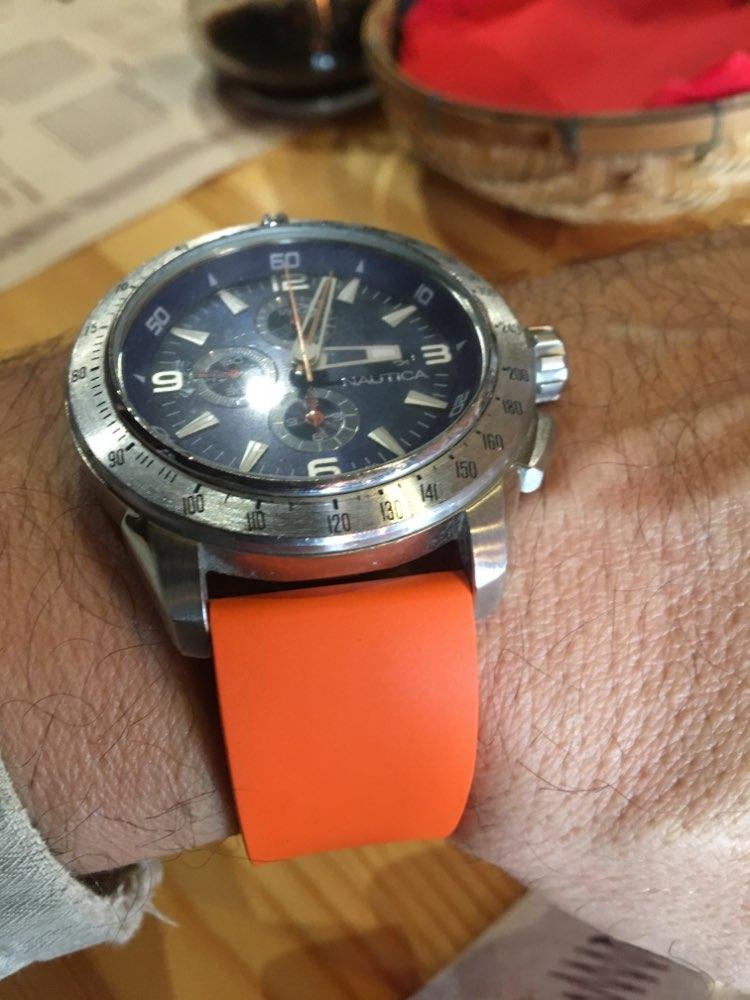 4b5a354ae3f Pulseira de Borracha fluorada 22mm 24mm para Diesel DZ Armani Timex CK  Relógio Banda Fivela De Cinta de Aço Inoxidável Escovado pulseira de pulso  Loja ...