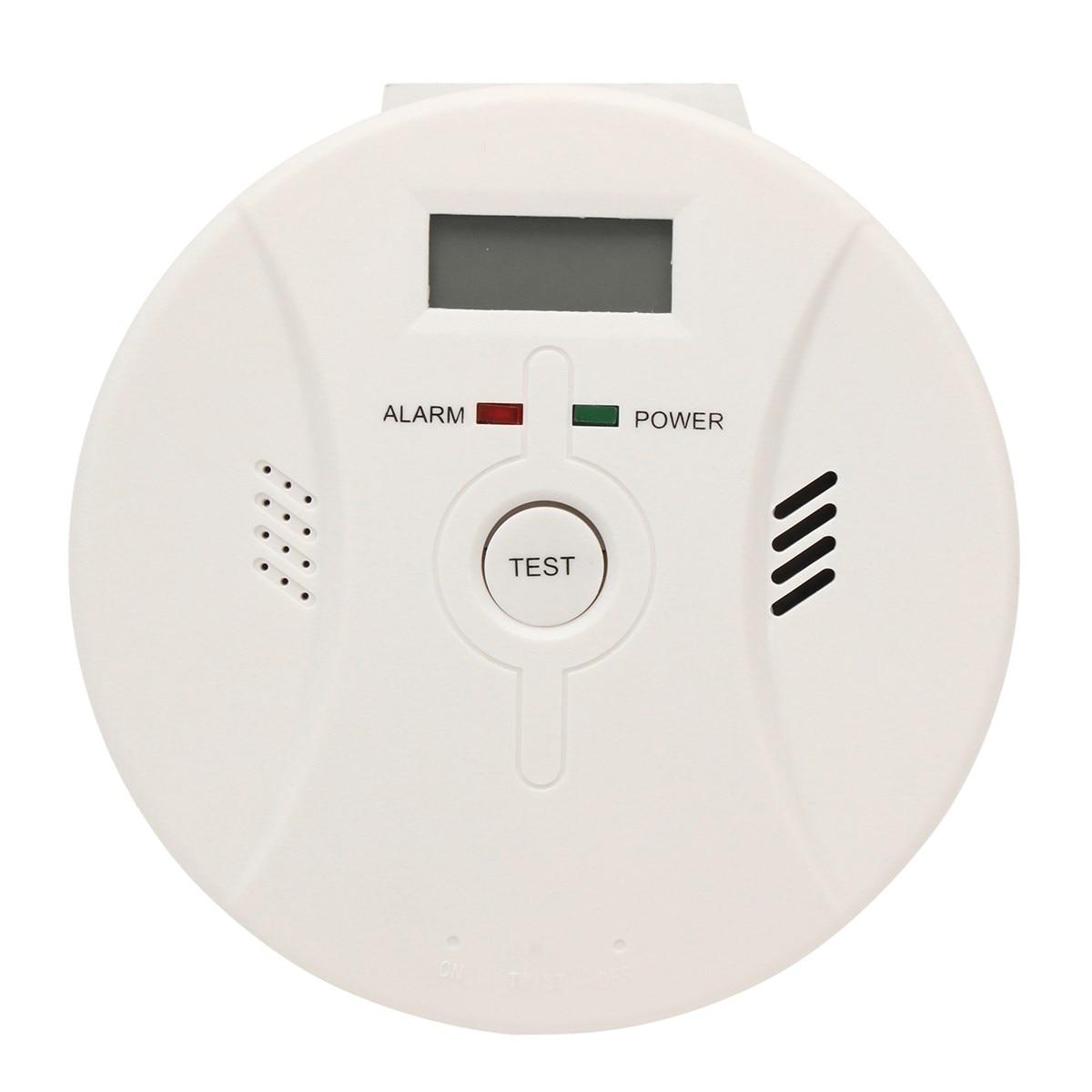 цена на Safurance Digital LCD CO Carbon Monoxide Detector Poisoning Smoke Fire Alarm Warning Sensor For Home Security